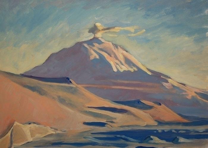 Erebus - oilpainting, antarctica - ccampbellart | ello