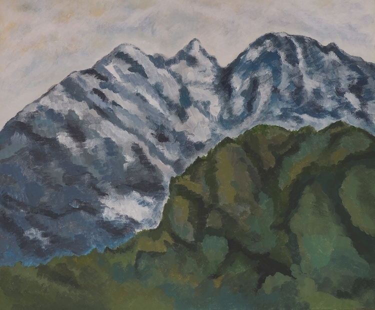 painting, drawing, traditionalart - malercutio | ello