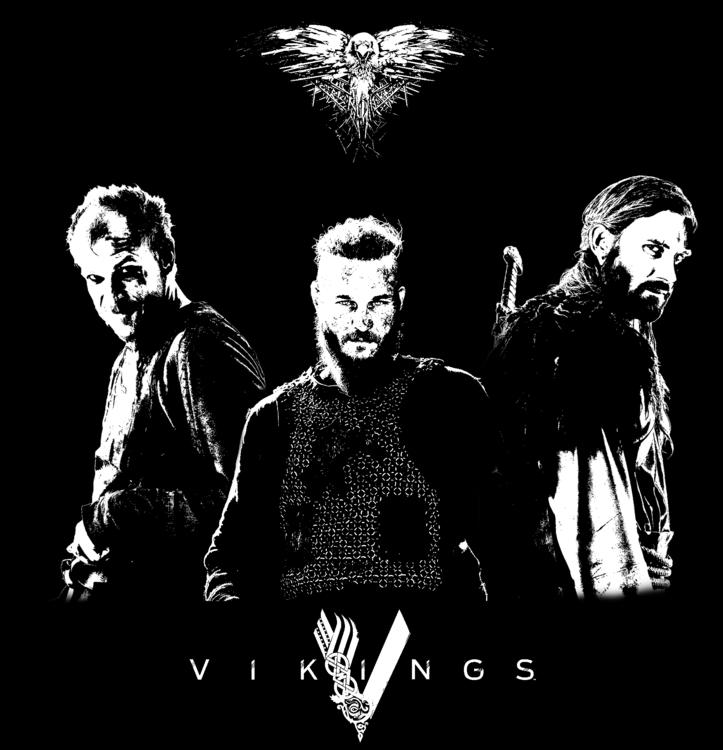Vikings Poster - #vikings, #starz - ericmadiadia | ello