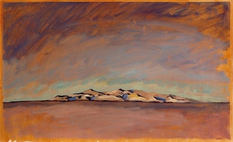 White Island - antarctica, Oil, landscape - ccampbellart | ello