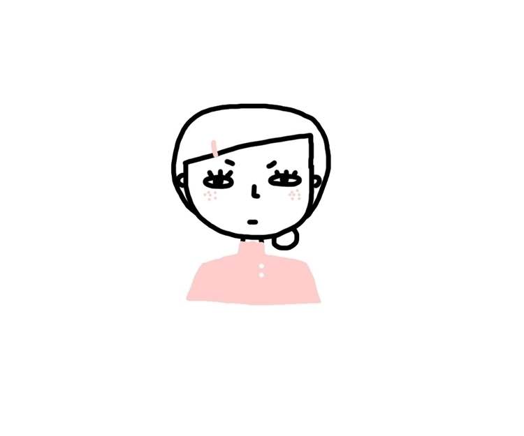moody sister - illustration, pink - mynt_c | ello