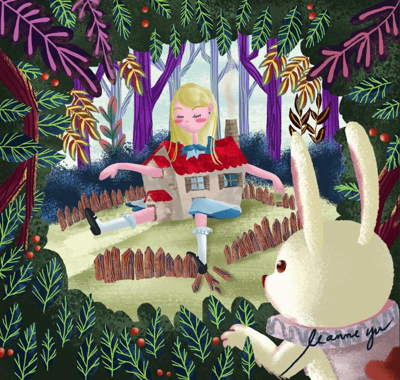 Big Alice - illustration, digitalart - leannepet   ello