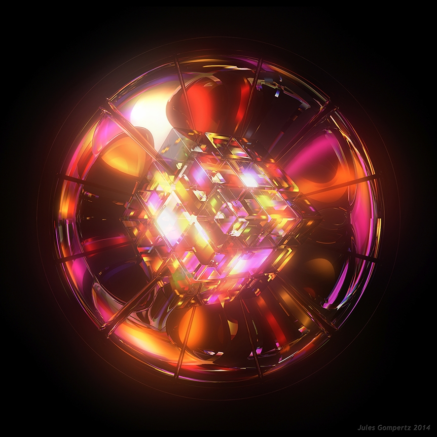 Kaleidoscope - 3D digital art g - theonlykoala | ello