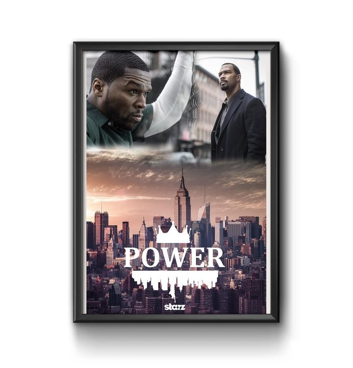 Power Poster - #power, #50cent, #series - ericmadiadia | ello