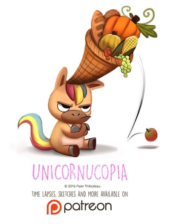 Day 1415. Unicornucopia - piperthibodeau   ello