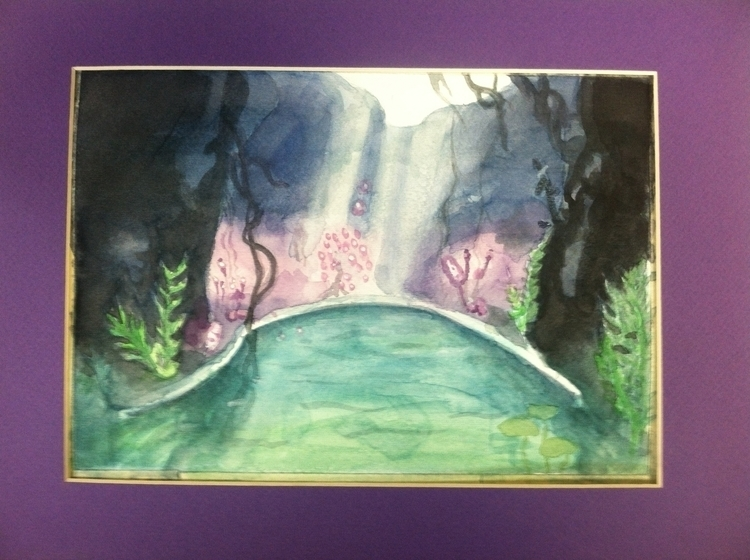 Trine 3 Cave - watercolor, Trine3 - chimerikel | ello