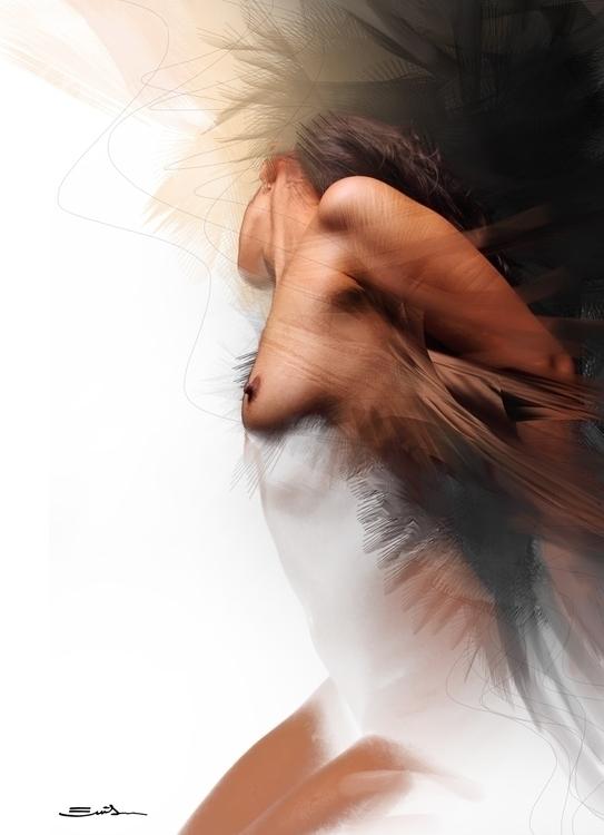 Fallen angel. (2011) Details - Fallenangel - emilioartist | ello