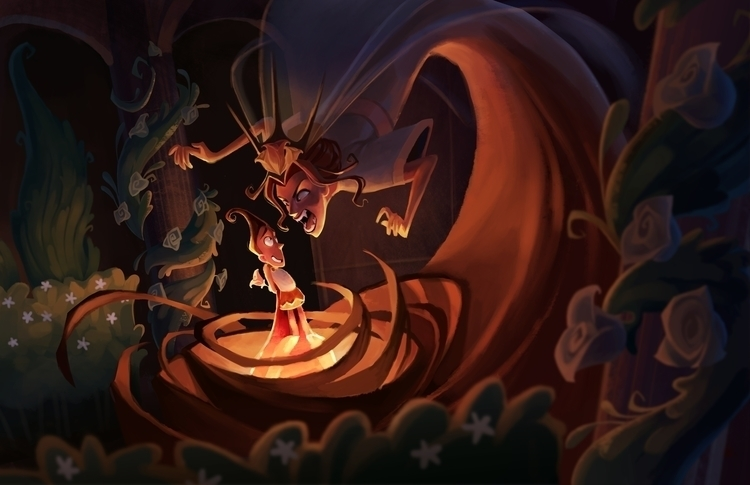 Alice Wonderland Redesigned - P - dykah | ello