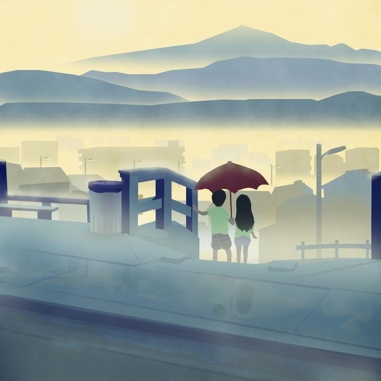 Summer Story 09 - illustration, collection - sasphere | ello