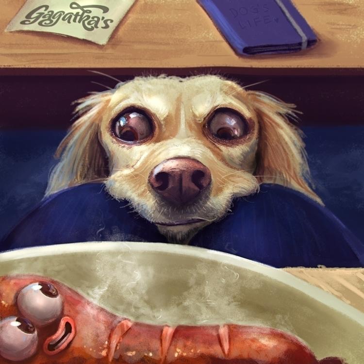 Birthday today! love Mom dog lo - gagatka | ello