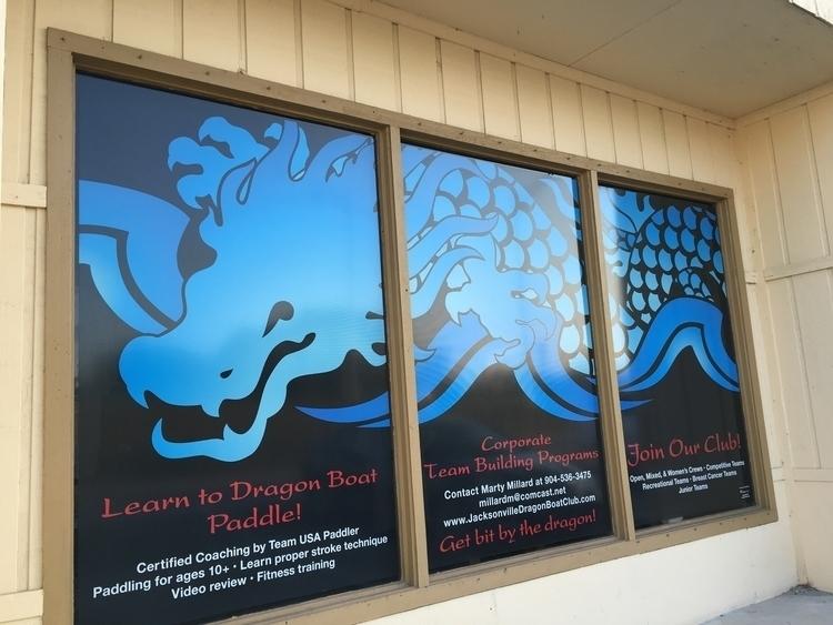 Dragon window graphic Jacksonvi - madelinekohm | ello