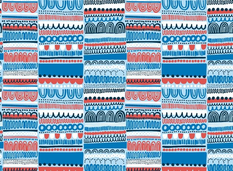 Ruu - pattern, patterndesign, abstract - petrawolff | ello