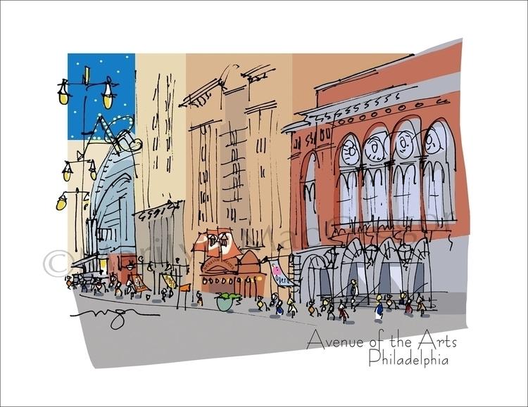 Avenue Arts, Philadelphia - art - macgregorart   ello