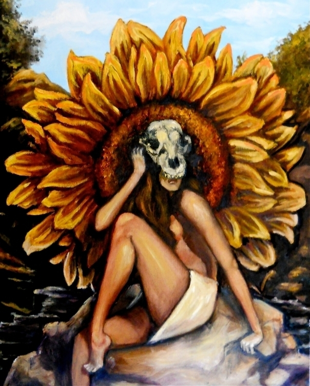 Feral, Oil Canvas 2012 - illustration - emilyadleblute | ello