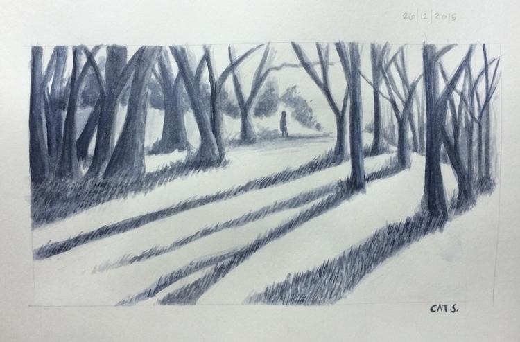 illustration, painting, watercolour - cat-8775 | ello