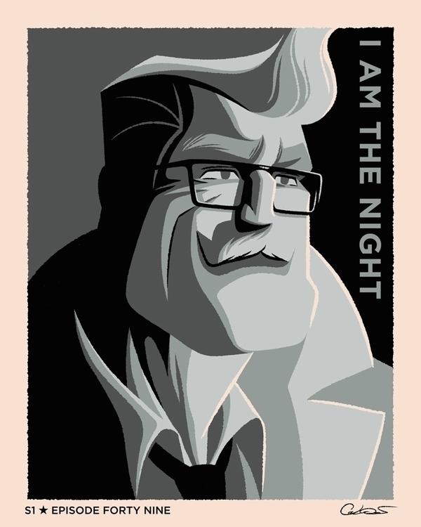poster Episode 49 Batman Animat - caltsoudas | ello