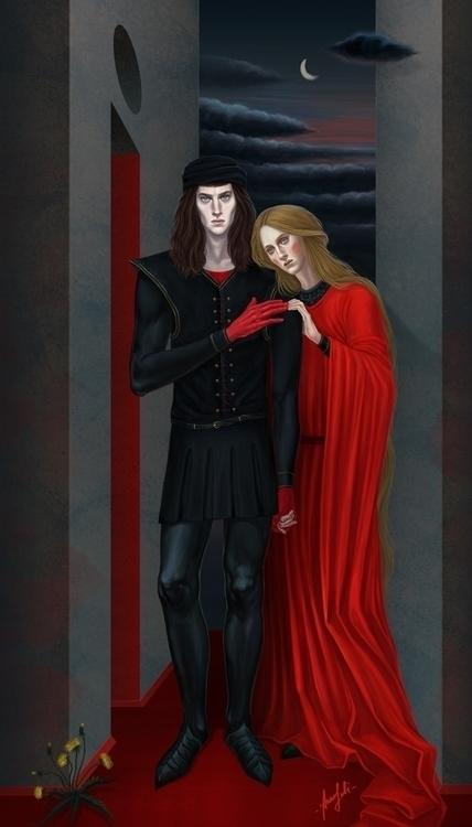 Impossible / Hamlet Ophelia sun - annaorca   ello