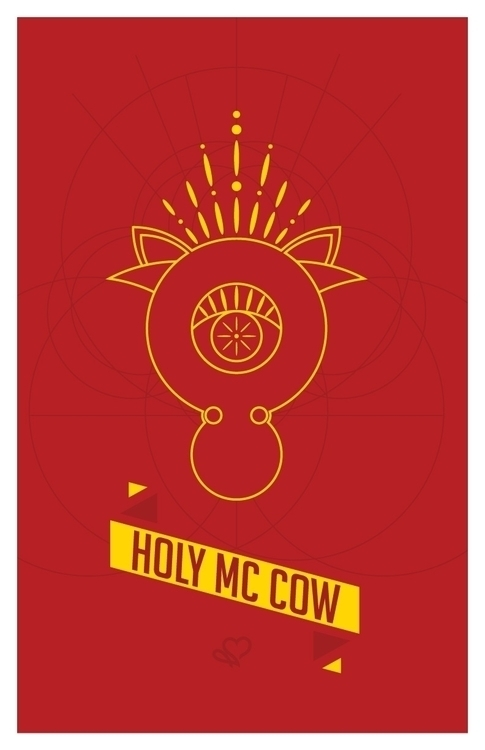Holy McCow illustration basic s - ejviper | ello