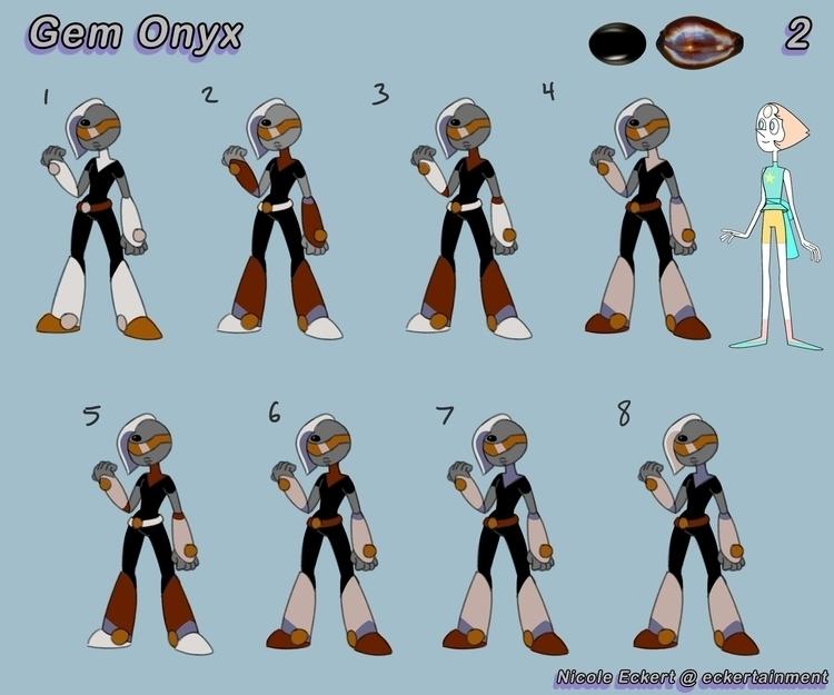Gem Onyx part 2 - characterdesign - eckertainment | ello