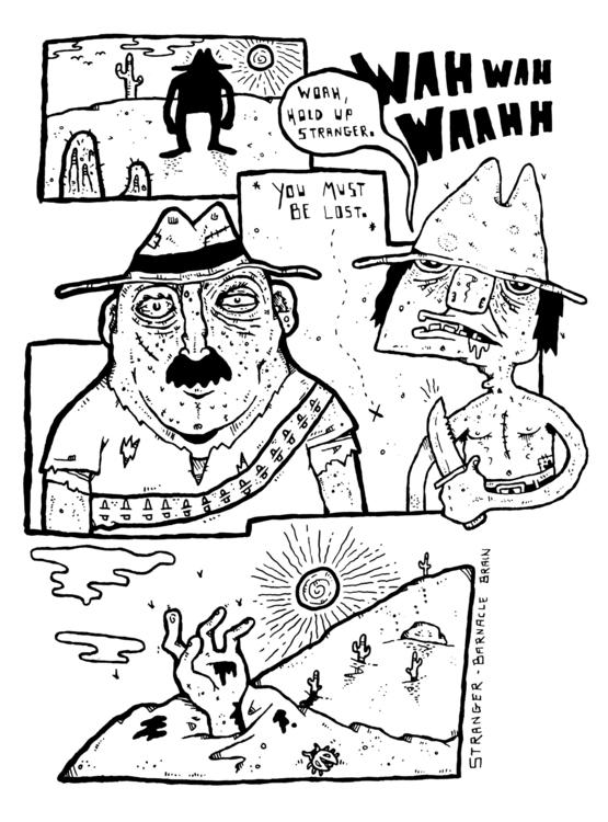 illustration, animation, painting - brock-8830 | ello