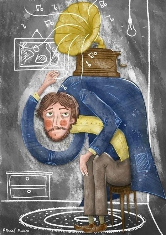 illustration, painting, characterdesign - ashlin-2989 | ello