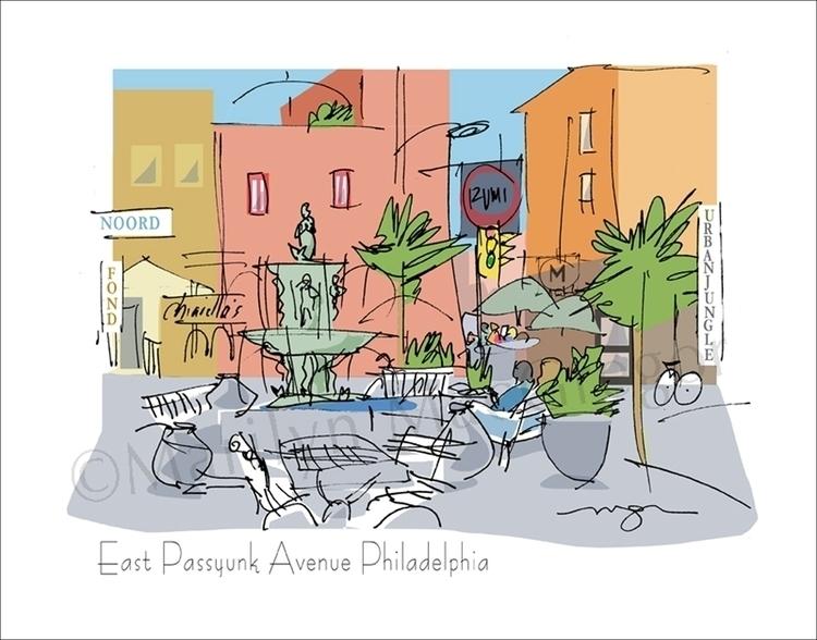 Passyunk, Philadelphia - art pr - macgregorart | ello