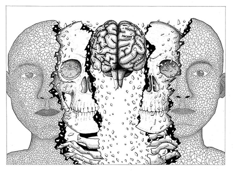 Anatomy - illustration, drawing - dejvidknezevic | ello