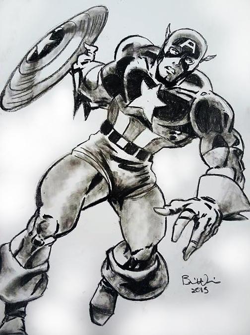 Captain America - mekanik32 | ello