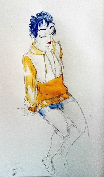 girl, characterdesign, character - clarisse-1174   ello