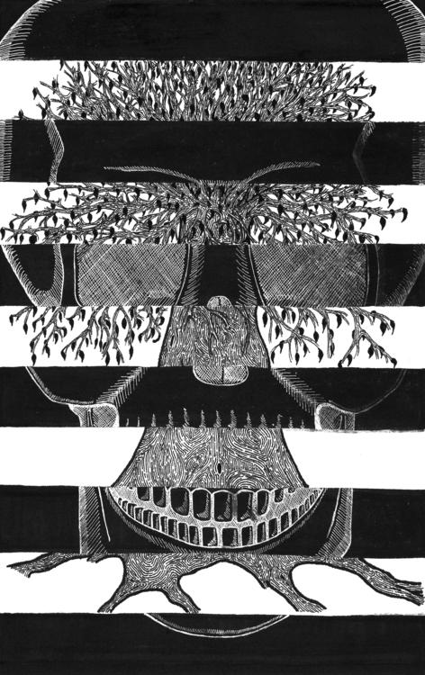 Duality - drawing, illustration - dejvidknezevic | ello