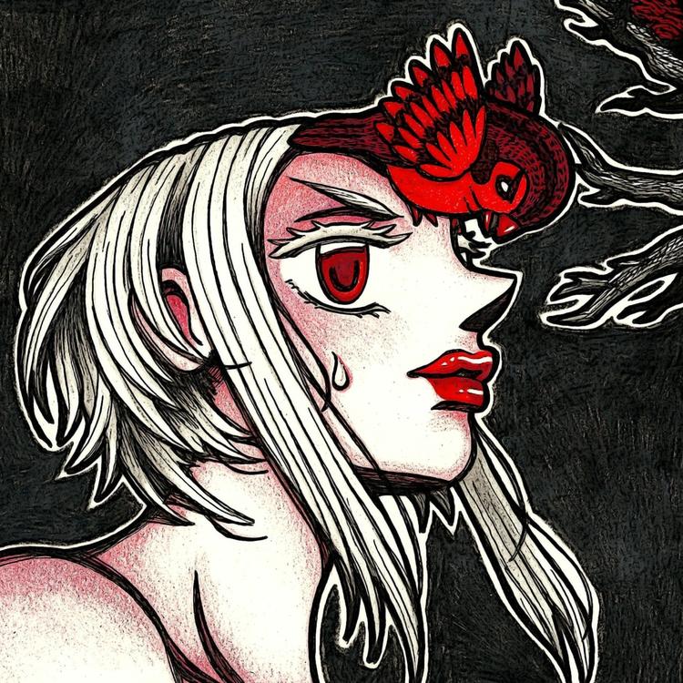 Angry Sparrows pt.1 - illustration - laurentesch | ello