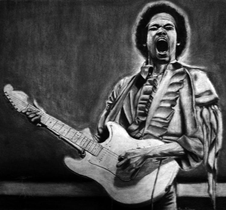 Jimi Hendrix - mekanik32 | ello
