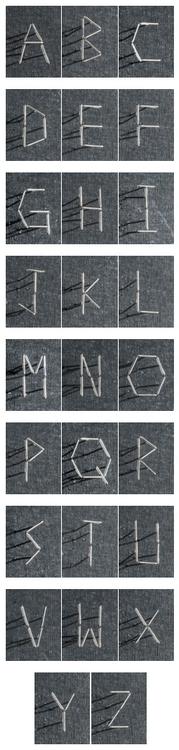 Pins Font Prick - typography, typeface - laurentesch   ello