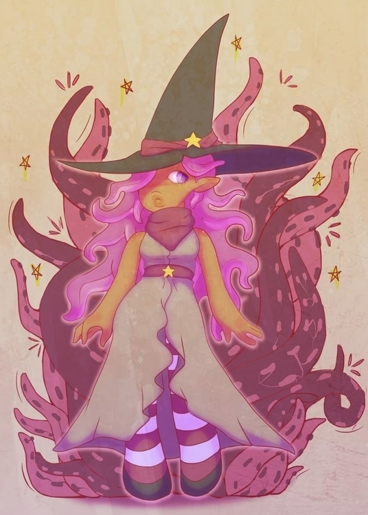 Meet Squid Witch! hair vaguely  - scootsies | ello