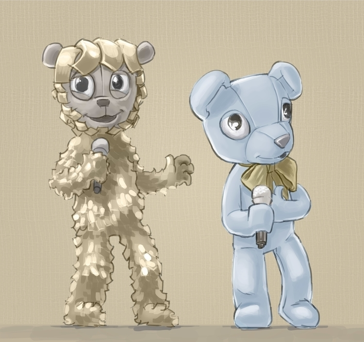 Teddy Bears pilot concepts - illustration - grositskiy | ello