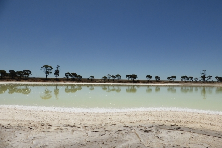 Salt lake Hyden, Western Austra - studiobonnici | ello
