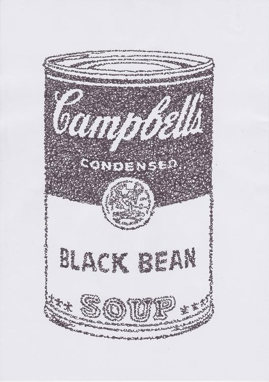 illustration, campbell, soup - santicp | ello