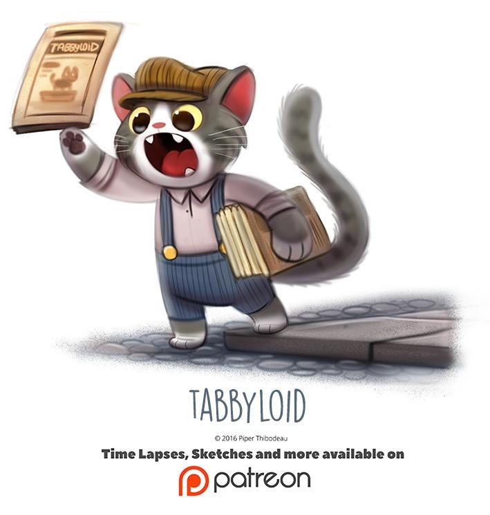 Day 1421. Tabbyloid - piperthibodeau | ello