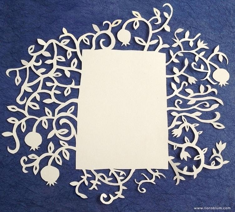 Paper Cutout Card - papercut, paperart - liora-1444 | ello
