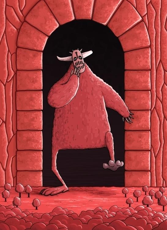 Horned Beast (09/10/2016 - monster - ricardovalente | ello