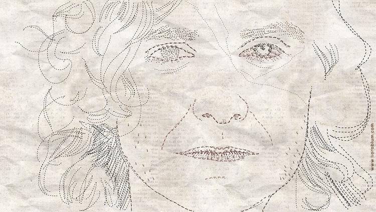 Gotye Portrait Sewing - portrait - liora-1444 | ello