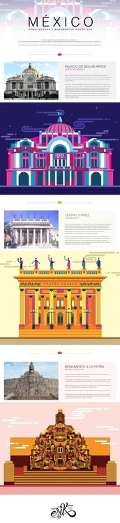 México, arquitectura monumentos - erikdgmx | ello