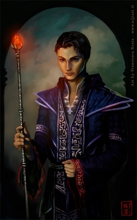 Ankan - character portrait - illustration - niji-4647 | ello