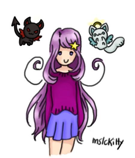 Katherine Kitty Familiars - illustration - laurentesch | ello