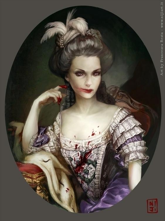 Vampires Versailles - illustration - niji-4647 | ello
