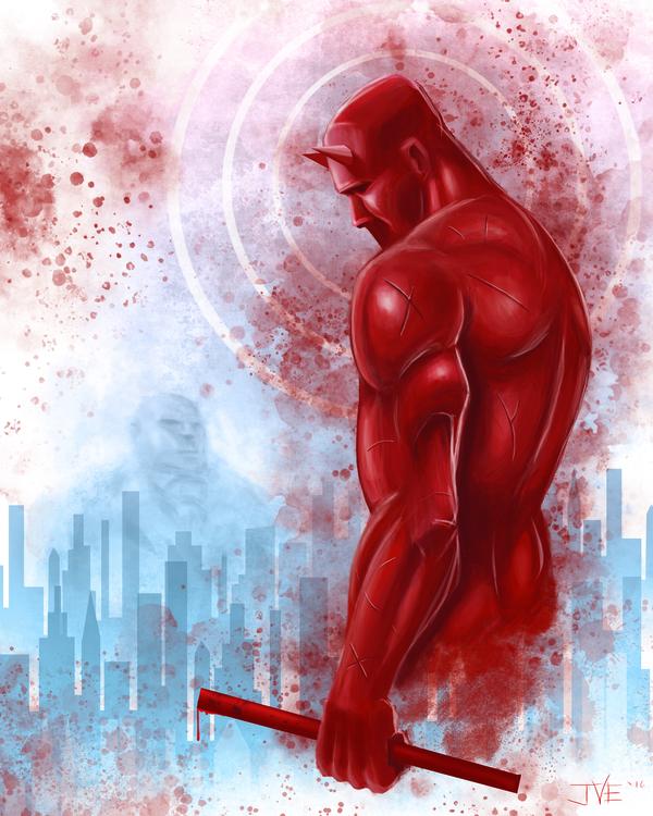 Big fan Daredevil, decided crea - jimmyedwards | ello