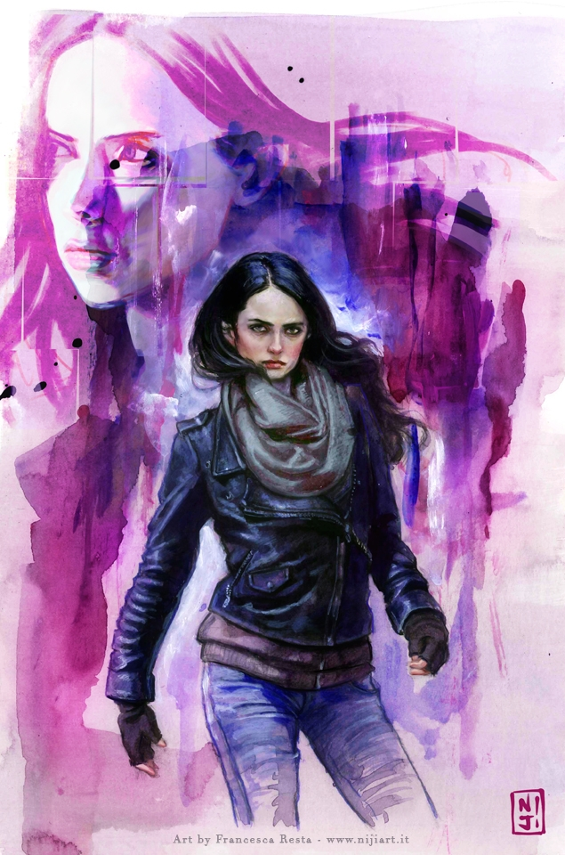 Jessica Jones - fanart - illustration - niji-4647 | ello