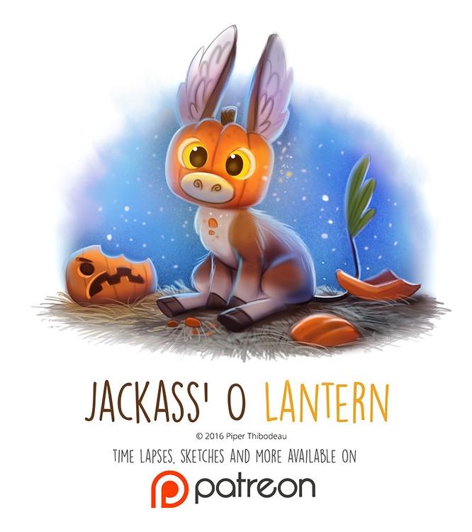 Day 1424. Jackass Lantern - piperthibodeau | ello