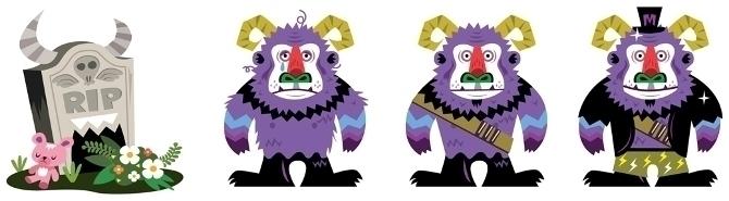 Monster Wallet - app, monster, characterdesign - ping-7637 | ello