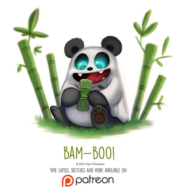 Day 1425. Bam-Boo - piperthibodeau | ello